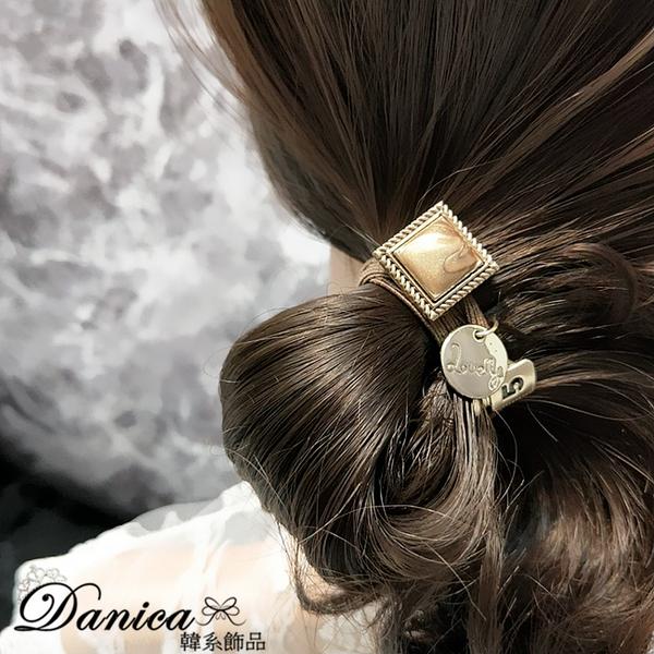現貨 韓國熱賣小香風復古大理石紋方塊香水瓶打結髮束可當手鍊 S8259 批發價 Danica 韓系飾品