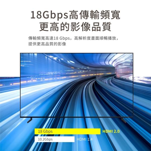 PX大通UH-5MX Premium HDMI2.0協會認證HDMItoHDMI高畫質影音傳輸線5米
