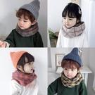 兒童圍巾   兒童圍巾秋冬韓版男童女童針織毛線小孩圍脖寶寶套頭保暖脖套潮   童趣屋