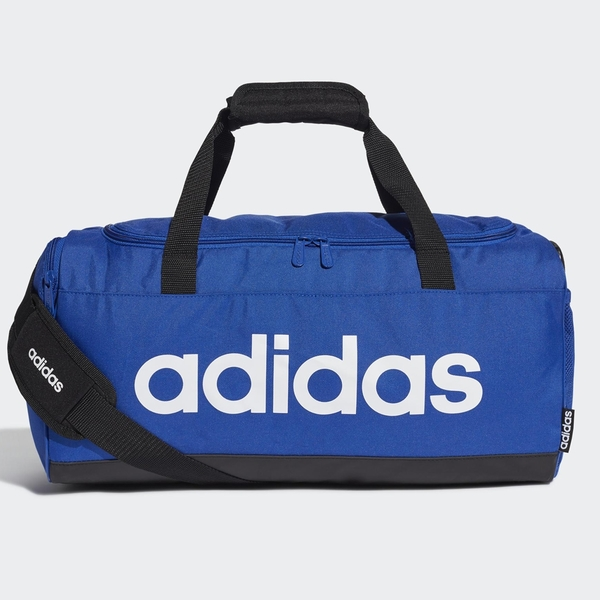 【現貨】ADIDAS Linear DUFFEL (S) 旅行袋 手提袋 健身 藍 【運動世界】GE1149
