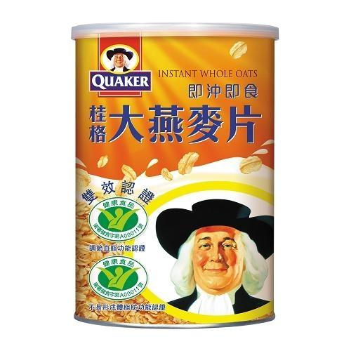 桂格即沖即食大燕麥片800g【愛買】