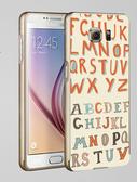 ♥ 俏魔女美人館 ♥Samsung Galaxy S7/s7 Edge {立體浮雕金屬邊框*英文字母 }手機殼 手機套 保護殼
