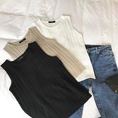 夏季韓版冰絲無袖針織背心女外穿修身短款學生吊帶內搭打底衫