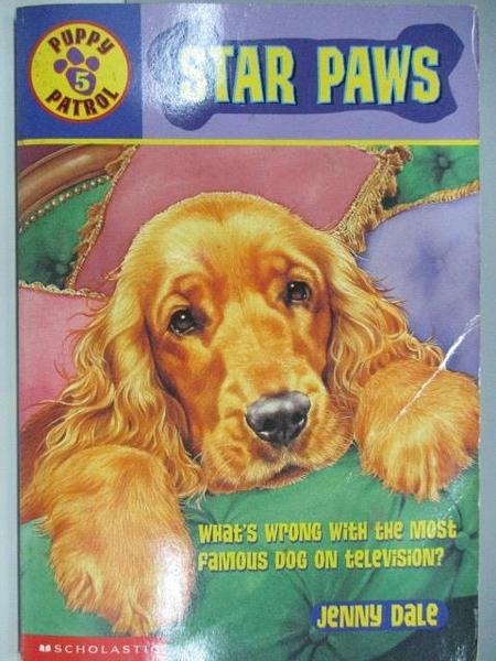 【書寶二手書T1/原文小說_AEA】Puppy Patrol_Star Paws