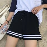 夏學生運動寬鬆百搭短褲女 俏女孩