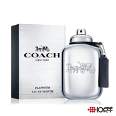 COACH New York 紐約白金男性淡香精 60ml  *10點半美妝館*