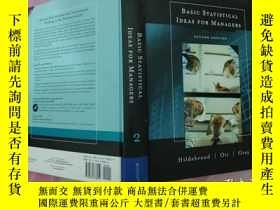 二手書博民逛書店Basic罕見Statistical Ideas for Man