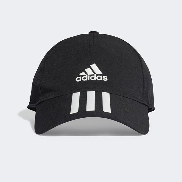 Adidas BB C 3S 4a A.R. [FK0882] 男女 老帽 鴨舌帽 棒球帽 六分割 經典款 騎車 黑