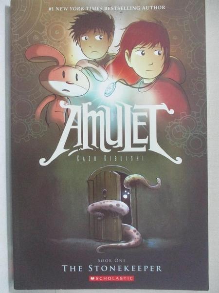 【書寶二手書T1/少年童書_I8H】Amulet 1: The Stonekeeper_Kibuishi, Kazu