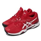 Asics 網球鞋 Court FF Novak L.E. 紅 白 球王 法網 限定款【ACS】 1041A275960