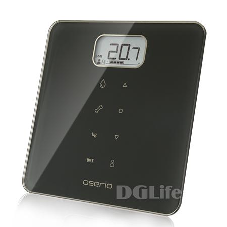 Oserio 歐瑟若 多功能BMI智能體重計 MAG-605 (曜石黑)