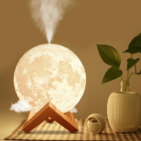 空氣加濕器大霧量小型家用靜音臥室創意宿舍床頭網紅閨蜜生日禮物女 夜燈嬰兒usb