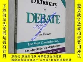 二手書博民逛書店Ntc s罕見Dictionary of Debate15975
