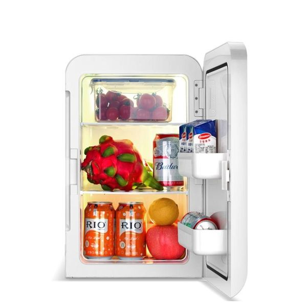 車載冰箱 德國雙門20L車載小冰箱迷你小型家用宿舍租房學生單人用車家兩用
