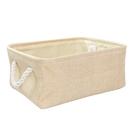 布質手提收納袋-米黃(小)