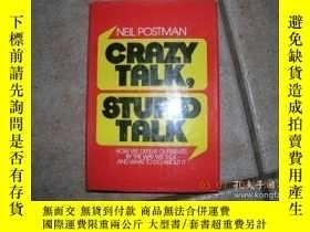 二手書博民逛書店Crazy罕見Talk, Stupid TalkY256260 Neil Postman Delacorte