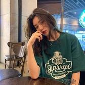 夏裝新款超火寬鬆chic服T恤韓版學生【雙十一狂歡】