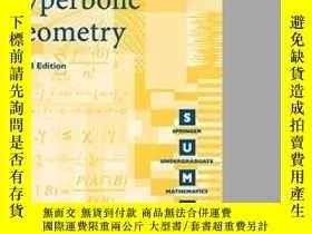 二手書博民逛書店Hyperbolic罕見GeometryY255562 James W. Anderson Springer