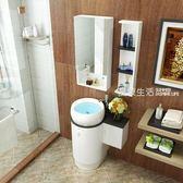 浴櫃 衛浴PVC浴室櫃組合落地櫃洗漱台洗手臉盆小戶型衛生間現代簡約鏡·夏茉生活IGO