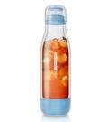 金時代書香咖啡 Driver 防撞玻璃保冷瓶 500ml- 粉藍 DR-BY29001A-BL