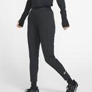 NIKE DRY 女裝 長褲 慢跑 訓練 刷毛 拉鍊口袋 黑 【運動世界】BV3333-010