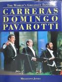 【書寶二手書T5/音樂_YJG】Worlds Greatest Tenors Carreras Domingo_Mill