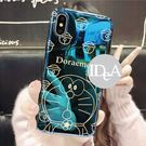 IDEA  iPhone XR 哆啦A夢藍光手機殼 亮面 保護殼 軟殼 全包 大雄 胖虎 小叮噹 日本 卡通 xr
