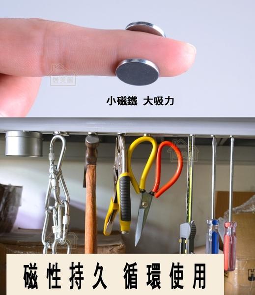 【居美麗】強力磁鐵 圓片6x3mm 超強釹鐵硼強磁 文具教具 科學實驗 N35 稀土