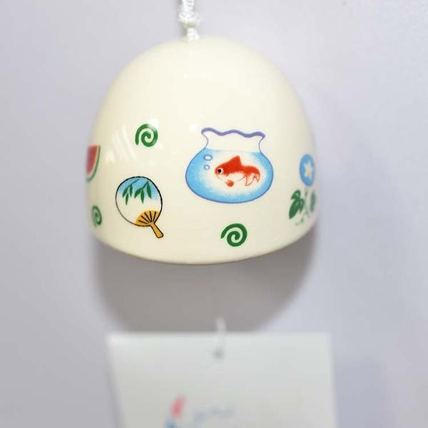 夏日物語 陶瓷風鈴 日本製