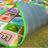 防潮墊子戶外春游防水沙灘睡墊爬行公園草地野餐墊子泡沫鋁膜加厚QM『艾麗花園』