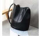 復古做舊水桶包包女新款大容量女包時尚單肩包斜背包 星河光年