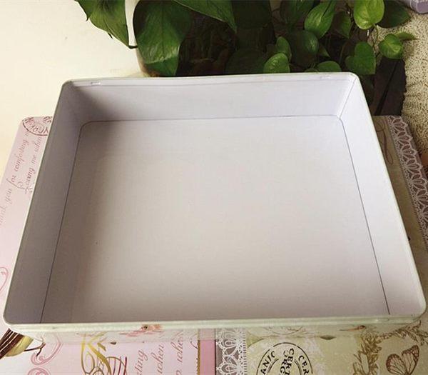 2個超大號鐵皮盒 A4紙收納鐵盒中秋月餅包裝盒餅乾化妝品禮盒 米菲良品 igo