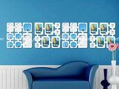 【照片牆壁貼】DIY吊掛式時尚相片裝飾像框壁貼藝術牆貼屏風