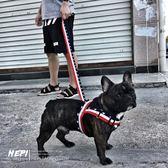 狗狗胸背帶中小型犬潮牌牽引繩雪納瑞泰迪比熊法斗脖項圈寵物用品 鹿角巷