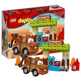 積木得寶系列10856板牙的車棚DUPLO積木玩具xw