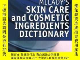 二手書博民逛書店Milady s罕見Skin Care And Cosmetic Ingredients Dictionary-米