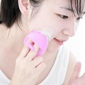 手動按摩矽膠洗臉刷毛孔清潔洗臉去角質潔面刷 夢想生活家