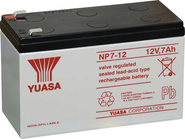 NP7-12 12V,7AH湯淺 YUASA飛瑞 台達 科風 APC 不斷電電池.UPS電池長效型專用電池