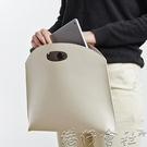 公事包 新款女包手提包時尚簡約手拿包OL氣質通勤包檔包女式公事包 【618特惠】