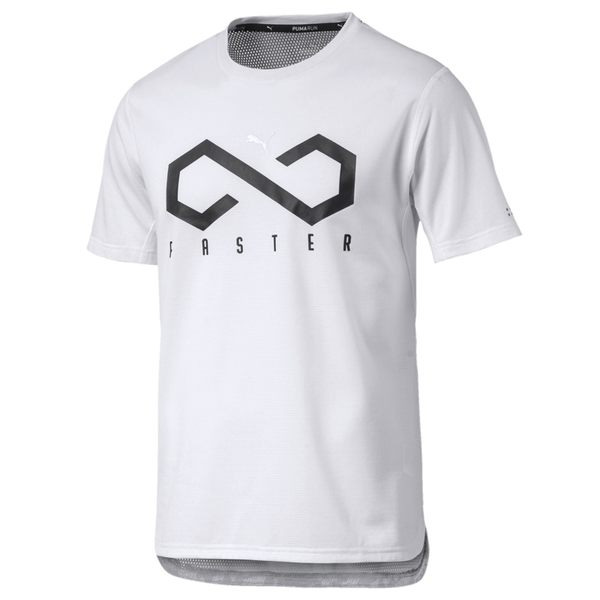 Puma 白 男款 短袖 上衣 棉T 短袖T恤 短T 運動 休閒 運動上衣 51627501