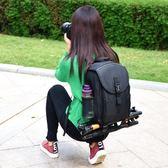佳能雙肩攝影包大容量單反相機包背包6d/70d/800d/5d3/80D/750Digo