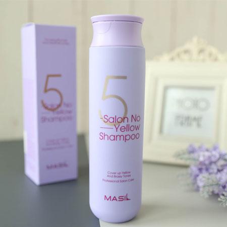 韓國 MASIL 5彩護色洗髮精 300ml 護色 洗髮精 頭髮清潔