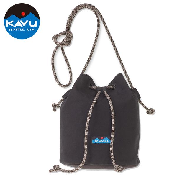 【西雅圖 KAVU】BUCKET BAG 水桶側背包  黑色  #9102