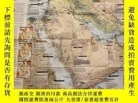 二手書博民逛書店罕見national geographic 美國國家地理地圖 1991年2月States in Turmoil: