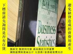 二手書博民逛書店Business罕見Statistics(Second Edit