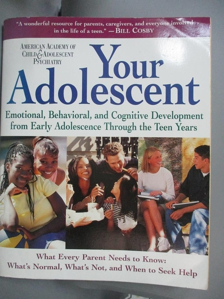 【書寶二手書T1/大學理工醫_KGU】Your Adolescent-Emotional, Behavioral…