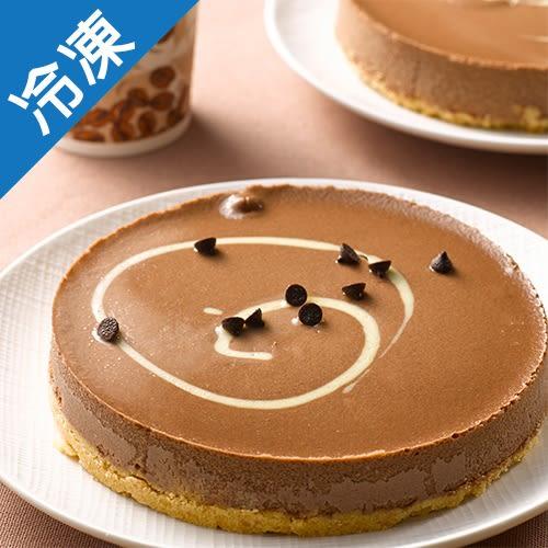 【綿密紮實】6吋濃郁巧克力重乳酪蛋糕1盒【愛買冷凍】
