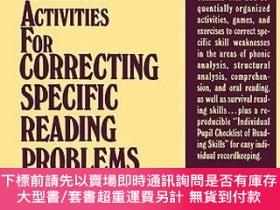 二手書博民逛書店預訂Classroom罕見Activities For Correcting Specific Reading P