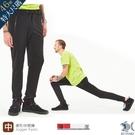 【NST Jeans】超大尺碼 極致柔軟橫向織紋特彈鬆緊帶廓形jogger長褲 396(66682)