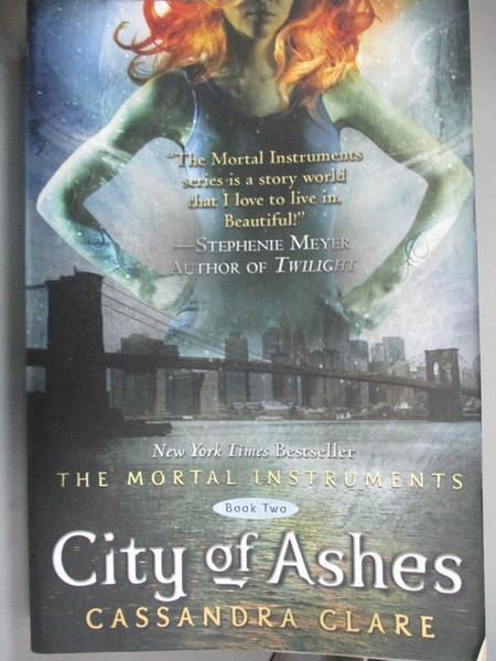 【書寶二手書T8/一般小說_KBG】City of Ashes_Clare, Cassandra